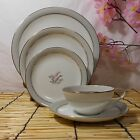 Vintage NORITAKE 5-Piece Place Setting in LILYBELL Pattern 5556 (c.1954-63)