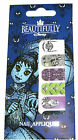 DISNEY PARKS Goth HAUNTED MANSION Nail Appliques Decal Art Stickers NEW!