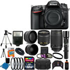 Nikon D7200 DSLR Camera 9 Lens 18 55 VR +70 300 +500MM + 32GB Best Value Bundle