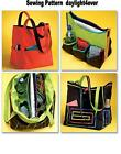 Tote Baby Diaper Beach Bag Purse Sewing Pattern 4851 McCall's NEW Large Tote AA