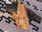 Colt Springfield 1911 Suede Lined Leather Holster Wild Bunch Field Holster US