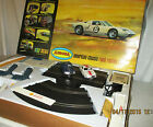 VINTAGE 1/32 SCALE AURORA AMERICAN CLASSIC ROAD RACING SET w/GTO CARS