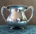 Vintage Victor Silver Co Quadruple Silver Plated Sugar / Bowl - Marked 2627