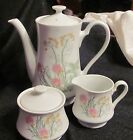 TEA SET 3 PC Herbs & Spices VINTAGE SHAFFORD 1970's Made in Japan Collectible