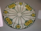 Antique Art Nouveau Royal Doulton Yellow Floral Dinner Plate Ca. 1908