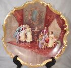 HUGE 19th C French Limoges Wall Plate 15
