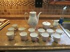 Bavaria Tirschenreuth Germany Tea set for 12/ Dek Hackefors 4 /mod charm 2060
