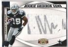 DeMarco Murray 2011 Gridiron Gear Rookie Gems Pull Out Auto 59 304 Cowboys