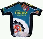Vintage RARE Sibille 1995 Festina Peugeot Team Cycling Jersey Size 3 S Italy