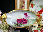 ANTIQUE RICHARD GINORI HAND PAINTED ITALY ARTIST SIGNED TRAY ROSES PATTERN