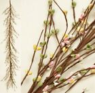 New SPRING PINK CREAM YELLOW GREEN BERRY GARLAND Swag Primitive Country Pip