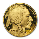 2015 W 1 oz Proof Gold Buffalo w Box  COA SKU 88359