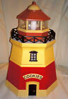 Vintage Lighthouse Cookie Jar Kitchen Night Light Canister Container Treat Jar