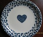 2 Folk Craft Hearts Salad Plates by Tienshan