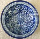 Blue White Tin Glaze Faience Delft Footed Bowl Persian Islamic, Iznik