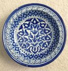 Sale!! Blue White Tin Glaze Faience Delft Footed Bowl Persian Islamic, Iznik