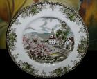 Johnson Brothers FRIENDLY VILLAGE Large Dinner Plate VILLAGE GREEN Made England