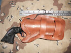Western Leather Holster 475 Heritage Rough Rider Ruger Single Six Uberti 22Cal