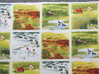 4 Seasons in the Country Patchwork Blocks Quilting Fabric 24
