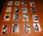 1977- TOPPS STAR WARS SERIES 2 (RED) CARDS COMPLETE SET (66)