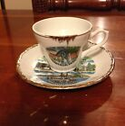 Vintage NASHVILLE Cup & Saucer TENNESSEE Japan MUSIC CITY GRAND OLE OPRY NICE