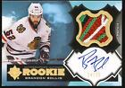 Brandon Bollig 12-13 Ultimate Collection Jersey Patch Auto Rc 14 25 Blackhawks