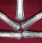 1939 DEL MAR Lot of 9 1881 Rogers Silver Plate Soup Sugar Tea Spoons