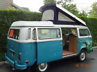 Volkswagen  Bus Vanagon Camper 1973 vw bus vanoagan 84 k runs and looks very good fun to drive no reserve