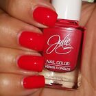 Julie G Bright Red! SOUND THE ALARM Nail Polish .35 fl oz 10 ml JulieG FULL SIZE