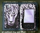 For NOKIA SURGE 6790 ATT rubberized cover case Leopard Snow