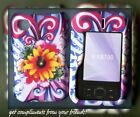 For NOKIA SURGE 6790 ATT rubberized cover case Flower sun