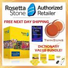 NEW Rosetta Stone Classical LATIN Homeschool 1 2  3 DICTIONARY VALUE BUNDLE