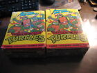 1990 TOPPS TEENAGE MUTANT NINJA TURTLES 2ND SERIES WAX BOX - One Complete + 42