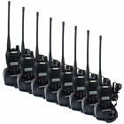 8PCS Walkie Talkie RETEVIS RT-B6 UHF+VHF 99CH 5W FM radio Monitor Two way Radio