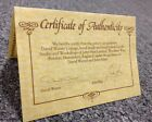 David Winter Cottage Certificate Of Authenticity ONLY John Hine Irish Collection