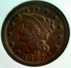 (1950) J.A. Bolen Counterstamp on 1847 Large Cent NGC VF 35 BN