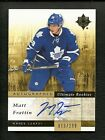 2011-12 Upper Deck Ultimate Collection Rookie Auto #133 MATT FRATTIN # 13 of 299
