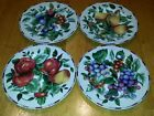 SAKURA Sonoma ONEIDA Ex-cell Luncheon Plate Set of 4 Made in Indonesia
