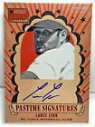 Lance Lynn 2013 Panini Americas Pastime Signatures RED on-card Auto #'d 5 10