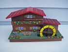 Vintage Cabin Cottage Chalet Music Jewelry Box Raindrops Keep Falling On My Head
