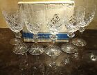 *VINTAGE* Waterford Crystal POWERSCOURT (1969-) Set 6 White Wine 6 3/8