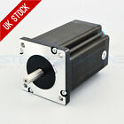 Nema 24 Stepper Motor 3.1Nm 3A 8-wire 8mm Dual Shaft CNC Mill Lathe Laser Router