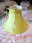 MID CENTURY MODERN OR EARLIER CLOTH LAMP SHADE 5.5 X 14 X 10