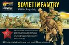 Plastic Toy Soldiers 28mm WWII Russian Infantry Warlord Games 40 Figures WGBRI02
