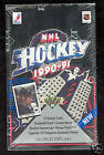 1990-91 1991 Upper Deck Hockey Wax Pack Box Low Series Set