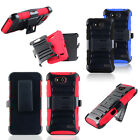 Hybrid Armor Rugged Holster Hybrid Hard Stand Phone Cover Case ZTE Speed N9130