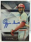 Ozzie Smith 2015 Topps Finest Greats Refractor on-card Autograph Auto CARDINALS
