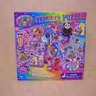 New Lisa Frank Cherri Sticker Puzzle 100 Pieces 3 Sticker Sheets Panda Painter
