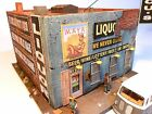 Downtown Deco HO Scale New Gone Bust Block! Craftsman Kit + Bonus Kit Fat Lou's!