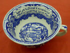 oversize joke motto CUP bowl colonial Staffordshire England British Anchor blue